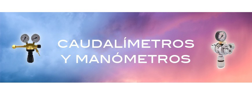 Caudalímetros y Manómetros